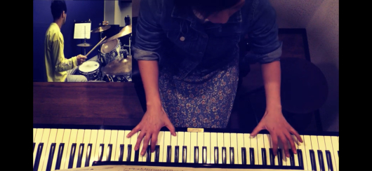 2020/2/10「【ピアノとドラム動画】願い/smika(cover)」_e0242155_01083504.jpg
