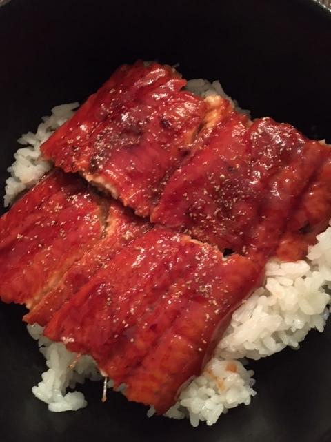 ハマグリの潮汁と鰻丼_e0350971_15323513.jpg