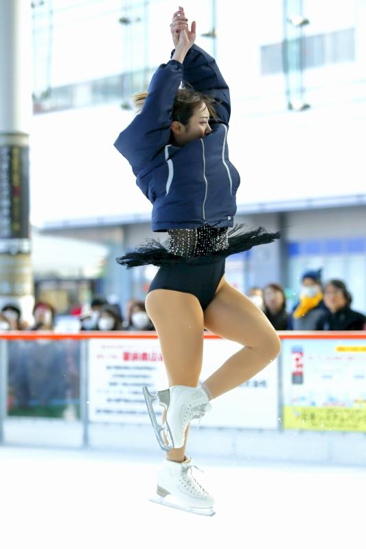 ハピリンク 関西大学アイススケート部スペシャルショー デモンストレーション_c0196076_22315163.jpg