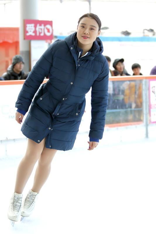 ハピリンク 関西大学アイススケート部スペシャルショー デモンストレーション_c0196076_22323685.jpg