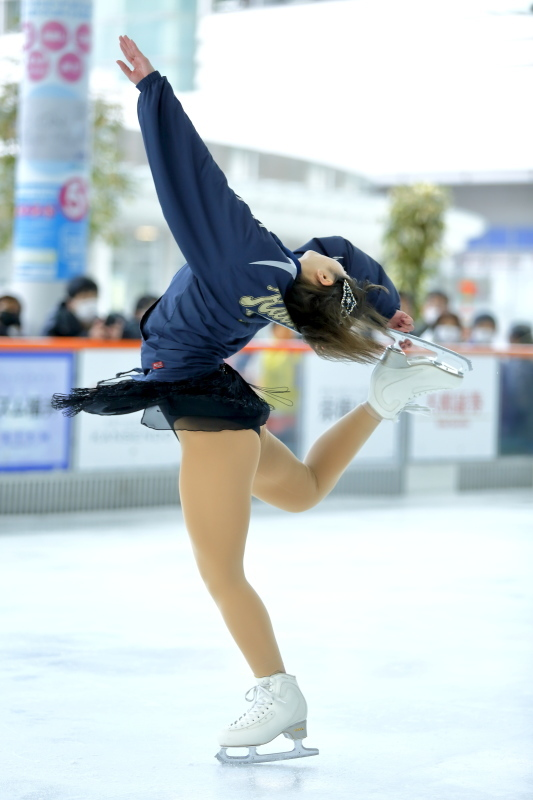 ハピリンク 関西大学アイススケート部スペシャルショー デモンストレーション_c0196076_22370524.jpg