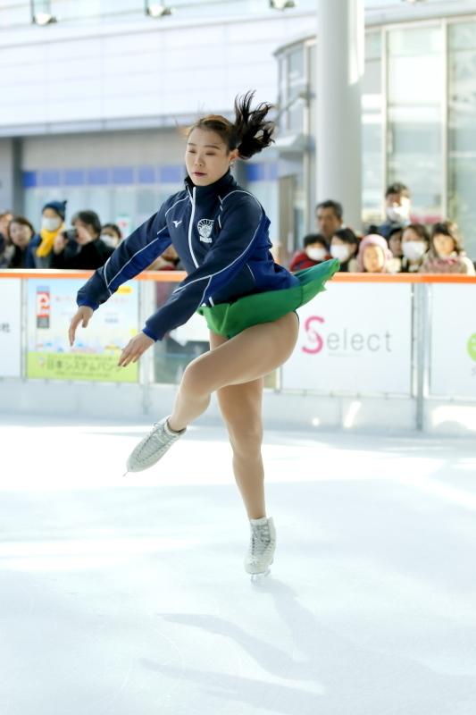 ハピリンク 関西大学アイススケート部スペシャルショー デモンストレーション_c0196076_22372045.jpg