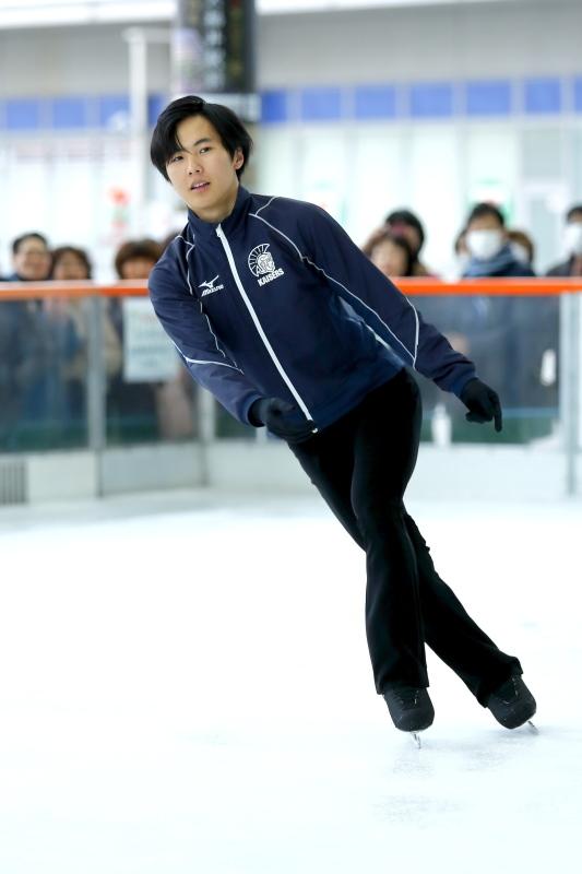 ハピリンク 関西大学アイススケート部スペシャルショー デモンストレーション_c0196076_22422348.jpg