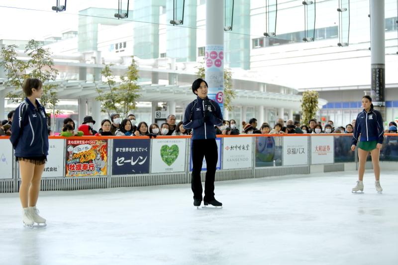 ハピリンク 関西大学アイススケート部スペシャルショー デモンストレーション_c0196076_22422643.jpg