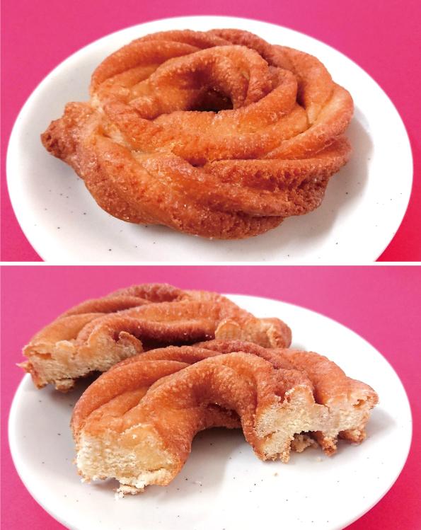 【袋ドーナツ】山崎製パン「ローズネットクッキー」【さすがのロングセラー】_d0272182_12164797.jpg
