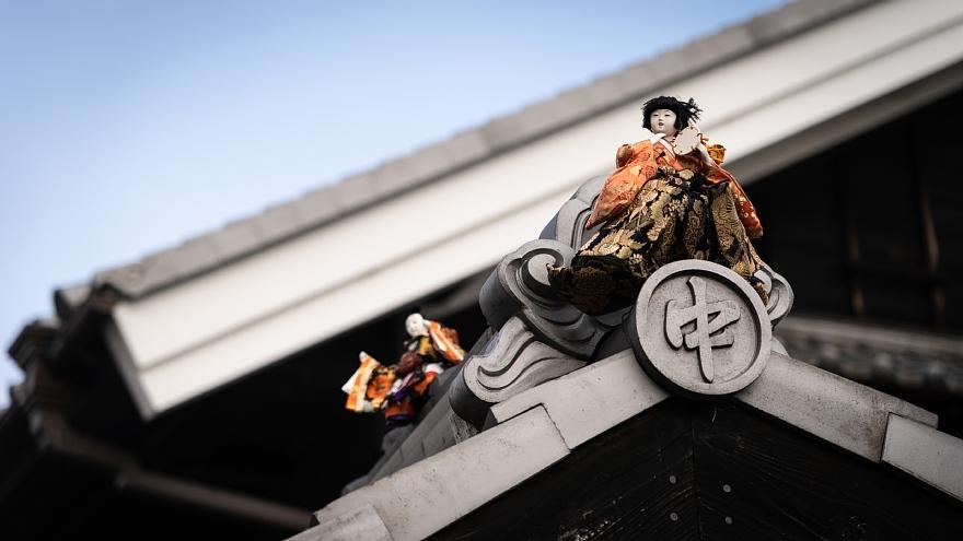 雛祭りが近づく旧東海道_d0353489_11212676.jpg