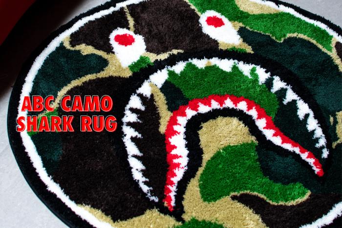 ABC CAMO SHARK RUG_a0174495_11554444.jpg