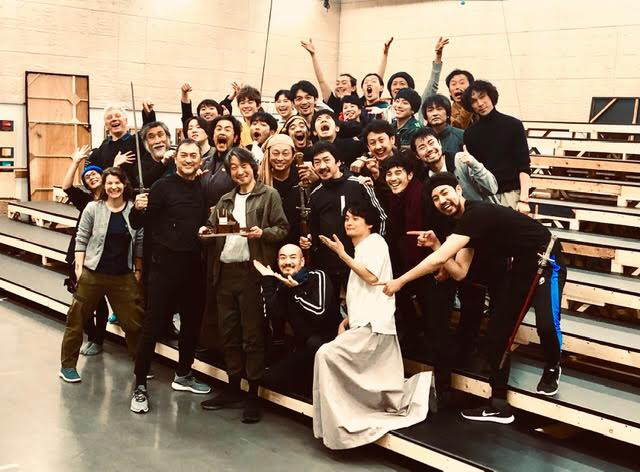 『ピサロ』in PARCO劇場 誕生日を祝うpart2_f0061797_22124144.jpg