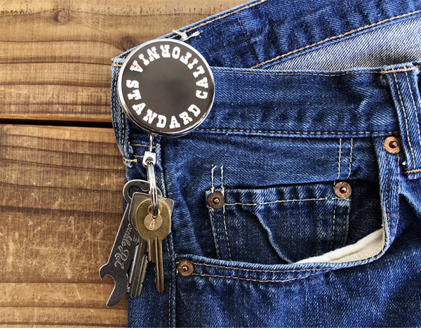 【DELIVERY】 STANDARD CALIFORNIA - Button Works×SD Reel Key Holder_a0076701_12363204.jpg