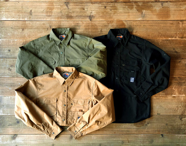 【DELIVERY】 STANDARD CALIFORNIA - Coolmax Stretch Duck Field Shirt_a0076701_12504135.jpg