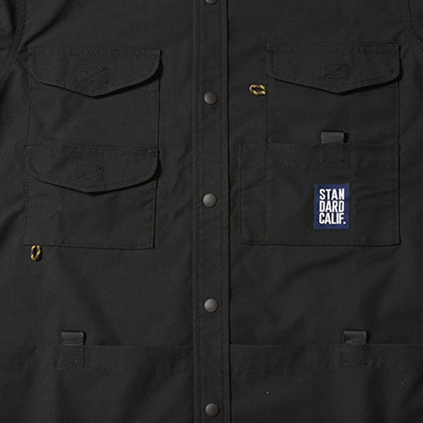 【DELIVERY】 STANDARD CALIFORNIA - Coolmax Stretch Duck Field Shirt_a0076701_12533164.jpg