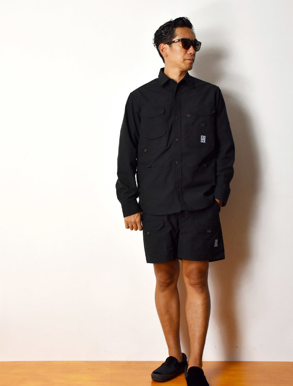 【DELIVERY】 STANDARD CALIFORNIA - Coolmax Stretch Duck Field Shirt_a0076701_12541329.jpg