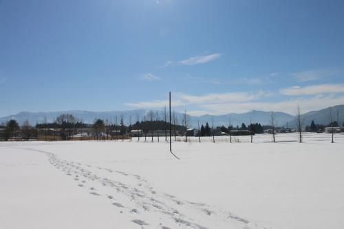 雪景色、斜平の山々&吾妻連峰_c0075701_17275952.jpg