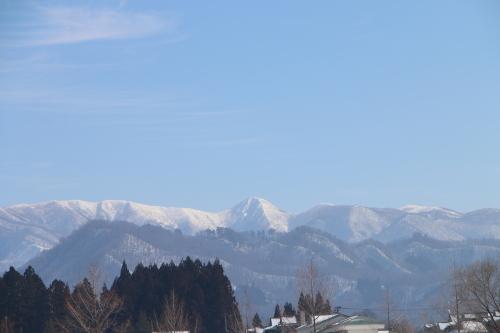 雪景色、斜平の山々&吾妻連峰_c0075701_17280408.jpg