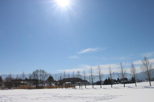 雪景色、斜平の山々&吾妻連峰_c0075701_17282405.jpg