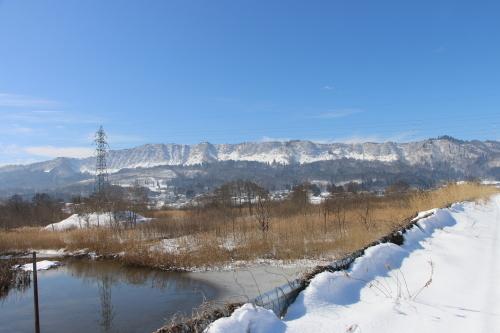 雪景色、斜平の山々&吾妻連峰_c0075701_17284894.jpg