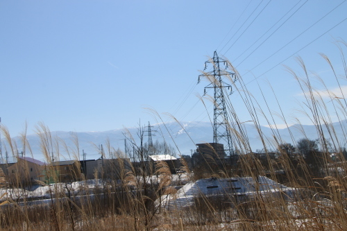 雪景色、斜平の山々&吾妻連峰_c0075701_17285894.jpg