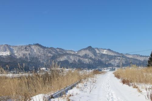雪景色、斜平の山々&吾妻連峰_c0075701_17291049.jpg