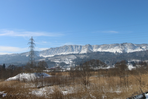 雪景色、斜平の山々&吾妻連峰_c0075701_17292551.jpg