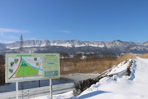 雪景色、斜平の山々&吾妻連峰_c0075701_17293390.jpg