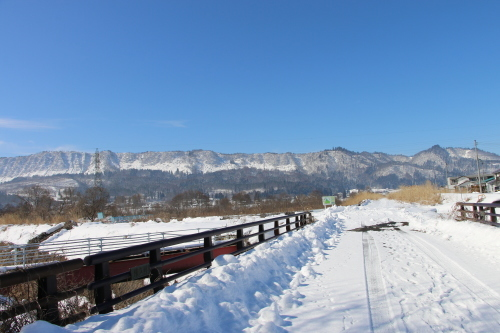雪景色、斜平の山々&吾妻連峰_c0075701_17294544.jpg