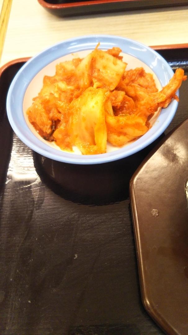 松屋 お肉大盛牛とじ&プルコギ定食生玉子_f0076001_23320014.jpg