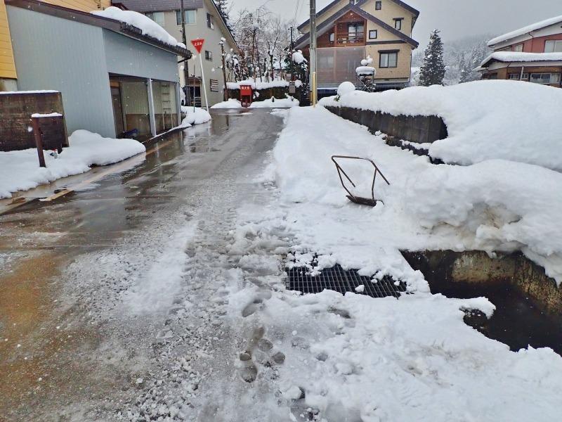 自宅裏の積雪深を測ってみました_c0336902_20305051.jpg