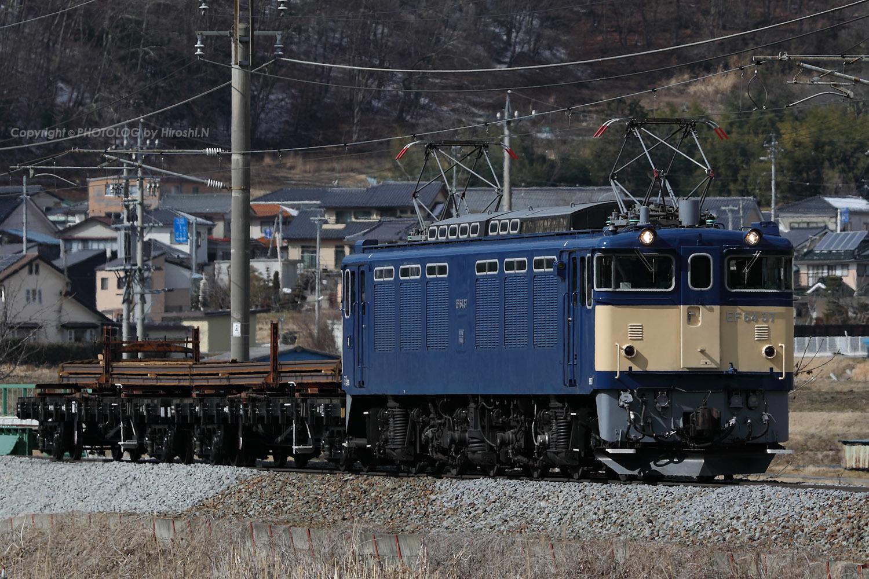 2020/2/11 Tue. 篠ノ井線 - EF64 37+チキ2B 川中島工臨 - _b0183406_19595303.jpg