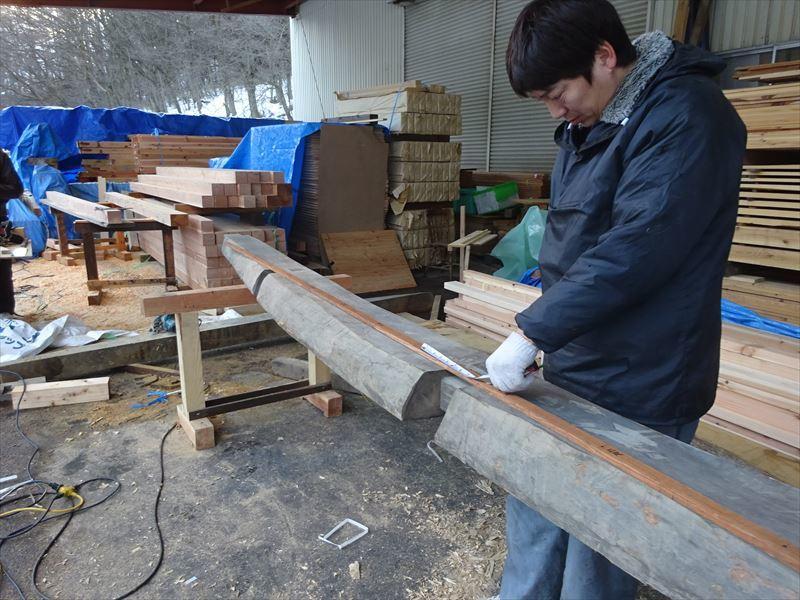 下太田 古材新築の家 進行中。_f0105112_04044862.jpg