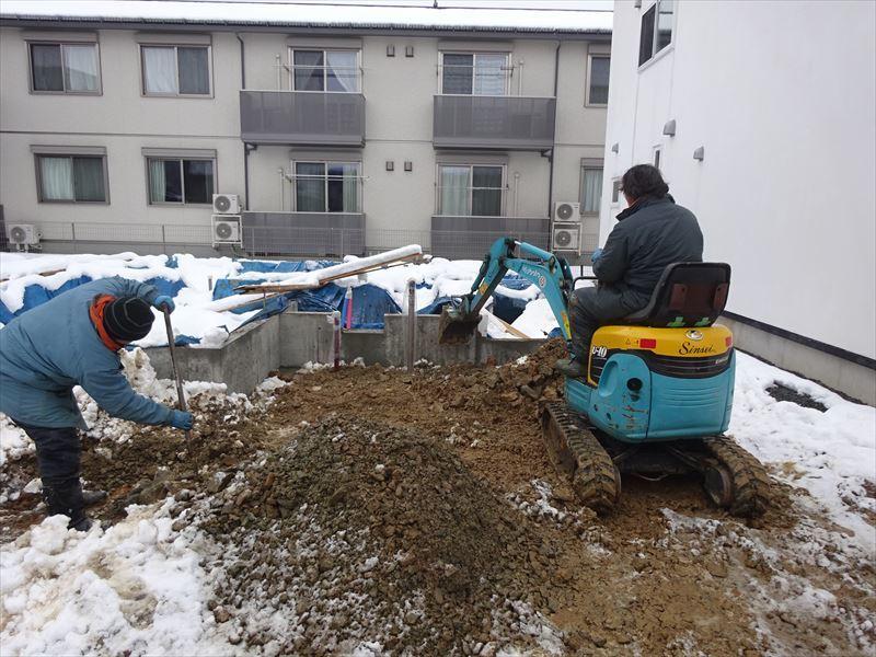 下太田 古材新築の家 進行中。_f0105112_04165387.jpg