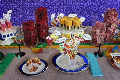 【テーブルセッティングによる食空間の提案】_f0215714_16583408.jpg