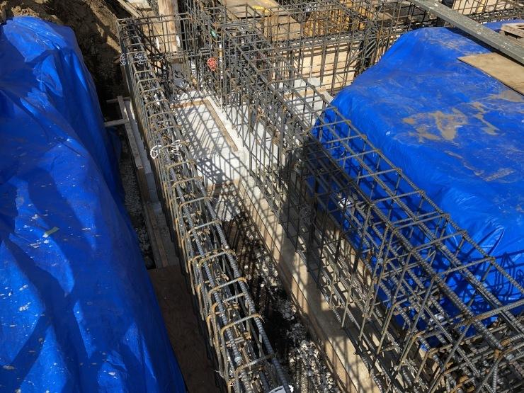 りぶうぇる練馬ディサービスセンター(06)   基礎コンクリート打設終了_b0074416_17244374.jpeg