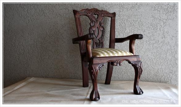 chaise de poupee 古い木製のドールチェア チッペンデール様式 フランスアンティーク_d0184921_16172481.jpg