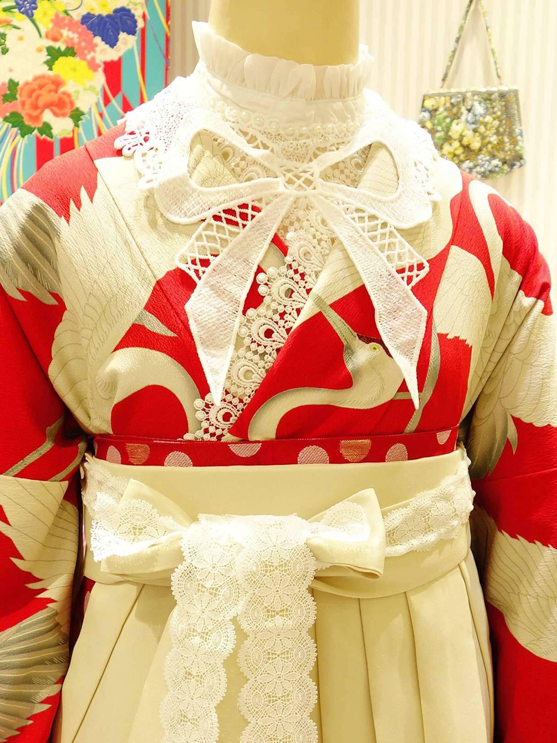 卒業式袴に洋装mix☆付け衿ご紹介*_e0167832_20000937.jpg