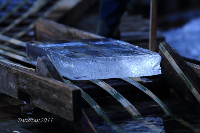 日光 四代目徳次郎の天然氷の切り出し ~この冬最後の挑戦で~_e0227942_22143158.jpg