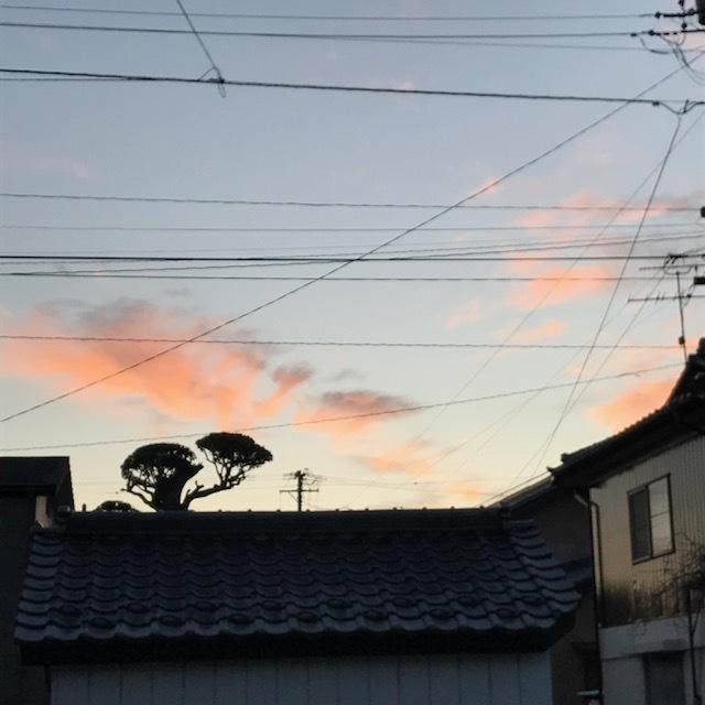 朝焼け_e0226943_22442346.jpg