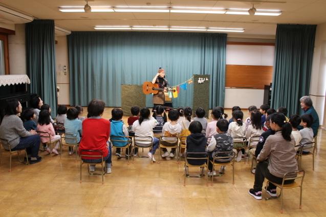 人形劇観賞 と 交通安全教室_e0209845_12580534.jpg