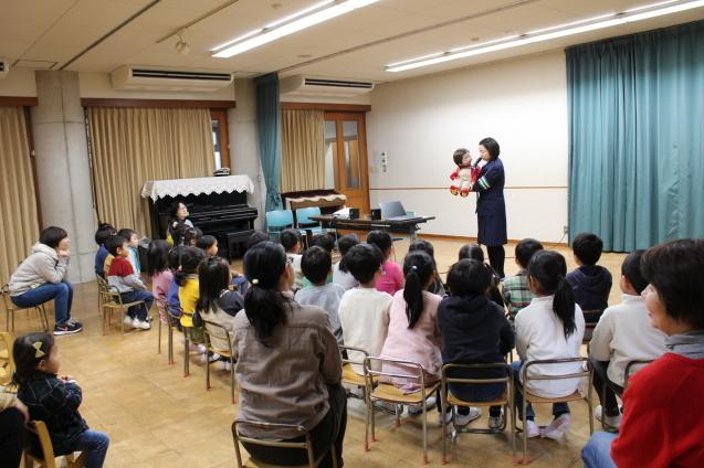 人形劇観賞 と 交通安全教室_e0209845_12580635.jpg
