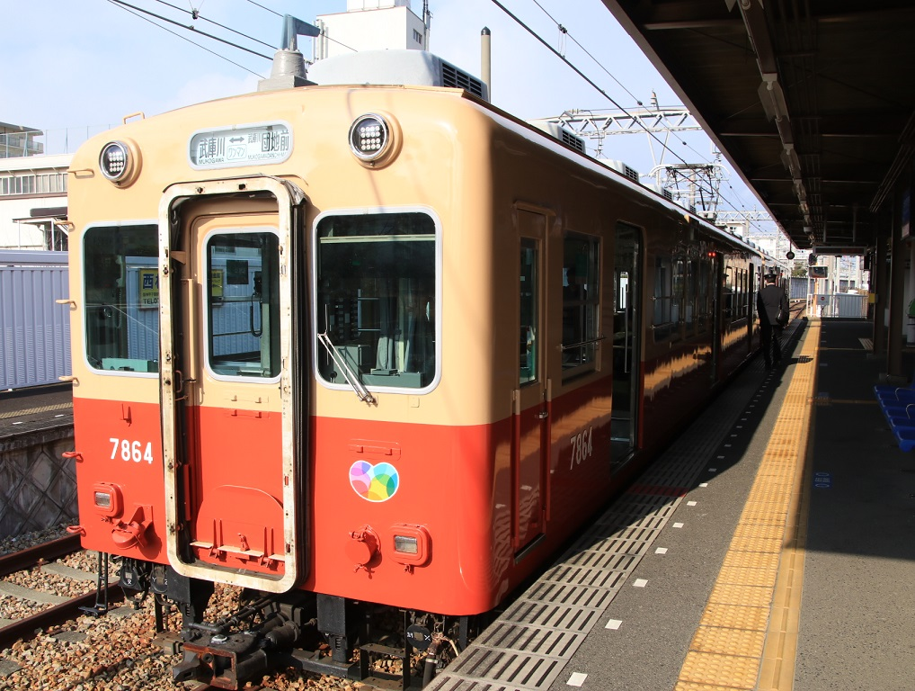 阪神電車 赤胴車のある風景_d0202264_10423382.jpg