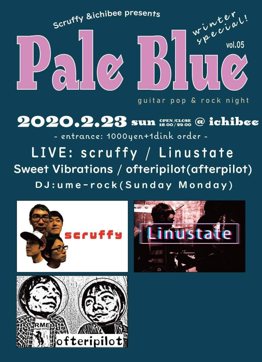 scruffy! next live 2/23 日曜日 吉祥寺ichibee_b0048882_21362632.jpg