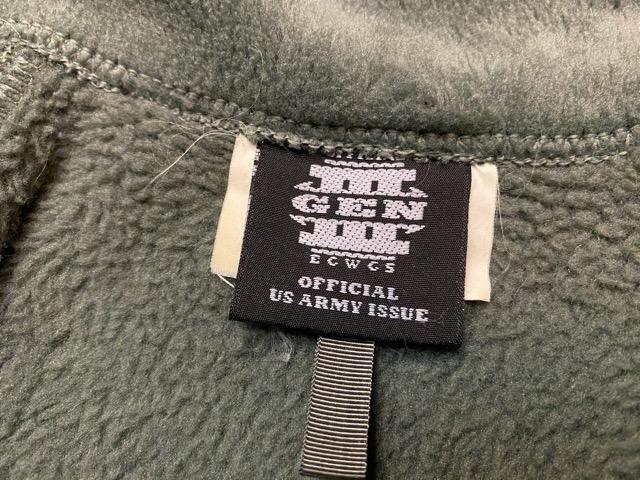 2月15日(土)マグネッツ大阪店スーペリア入荷!!#1 U.S.Military Part1編! GENⅠ ECWCS L6 & GENⅢ L3,L2、APFU!!_c0078587_13424259.jpg