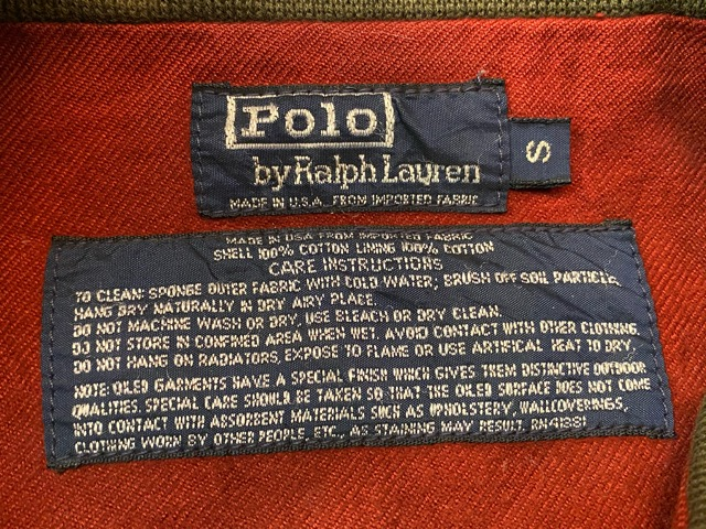2月15日(土)マグネッツ大阪店スーペリア入荷!!#5 RalphLauren & CottonKnit編! TankersType & A-1 Type、BlackWatch、RRL!!_c0078587_1954568.jpg