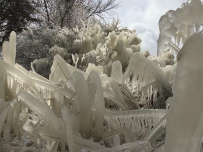 猪苗代湖にしぶき氷!_a0096989_16080335.jpg