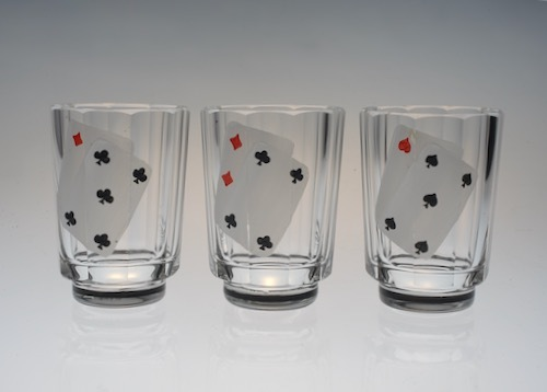 Enamel Playing CARDS SHOT GLASS_c0108595_23521738.jpeg