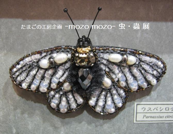 たまごの工房企画 -mozo mozo- 虫・蟲 展  その3_e0134502_17545629.jpg