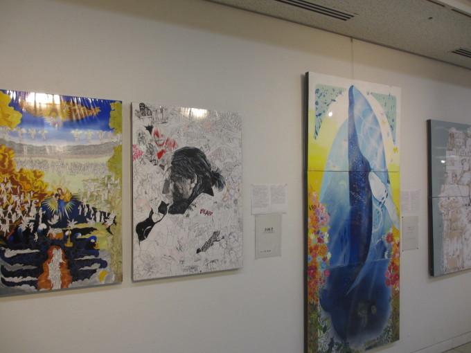 姫路工業高校デザイン科 作品展_d0077106_16024067.jpg