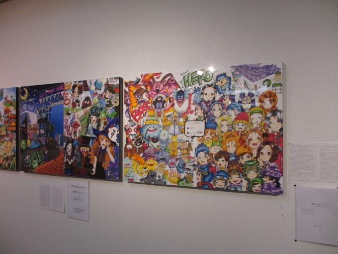 姫路工業高校デザイン科 作品展_d0077106_16055989.jpg
