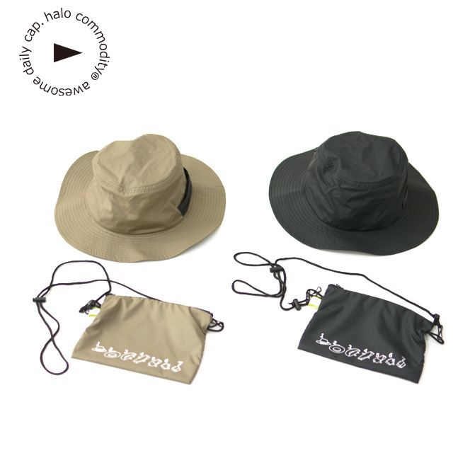 halo.commodity [ハロ コモディティ] Pollen Banner Hat [h201-401] ポーレン バナー ハット ・MEN\'S / LADY\'S_f0051306_16192138.jpg