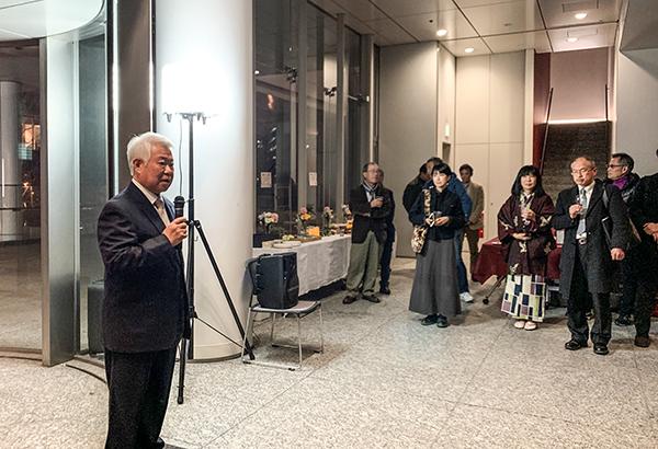 師岡清高写真展「刻の表出」レセプションパーティー!_b0194208_23435123.jpg