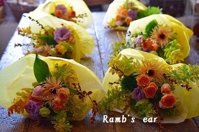 ガーデン倶楽部 Bouquetレッスン♪_e0128909_07040576.jpg